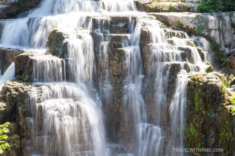 Inglis Falls Conservation Area closeup
