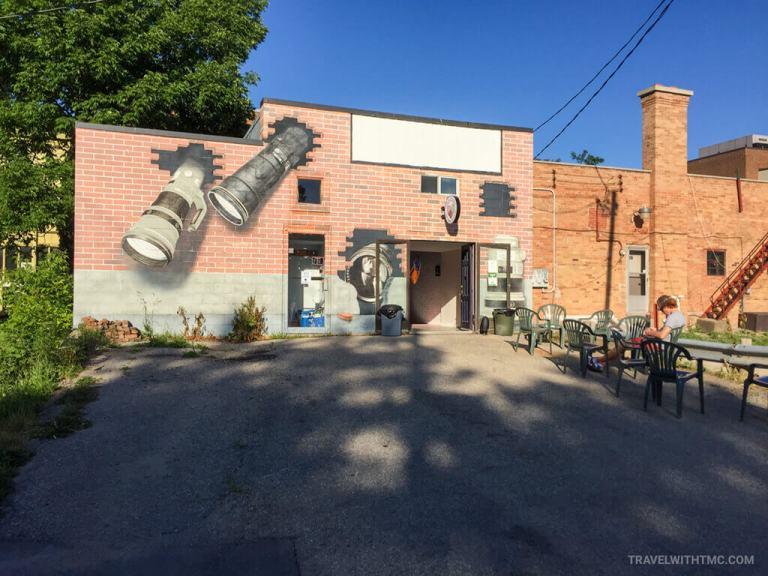 Owen Sound's Foto Art Camera Museum and Sundays Ice Cream Parlour