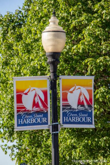 Welcome to Owen Sound's Waterfront Harbour