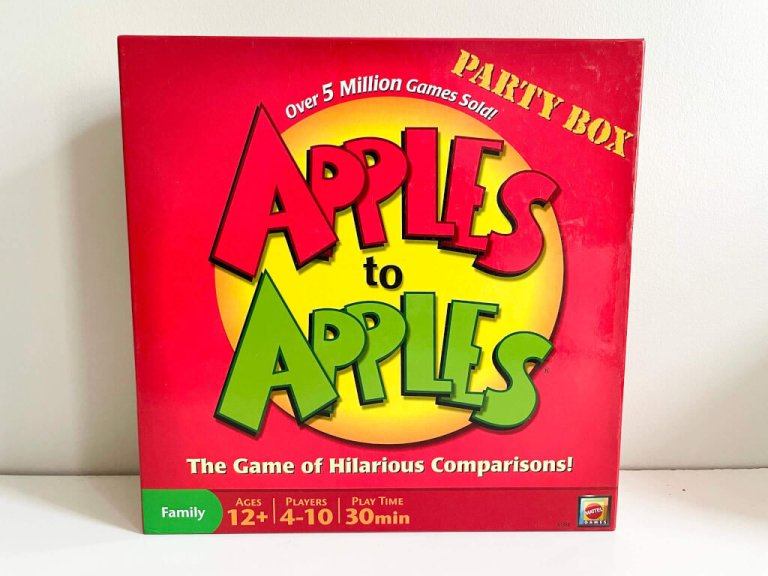 Apples to Apples speaking and listening language learning game