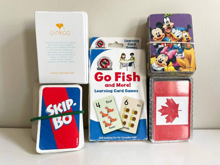 Card Games make great language learning activities