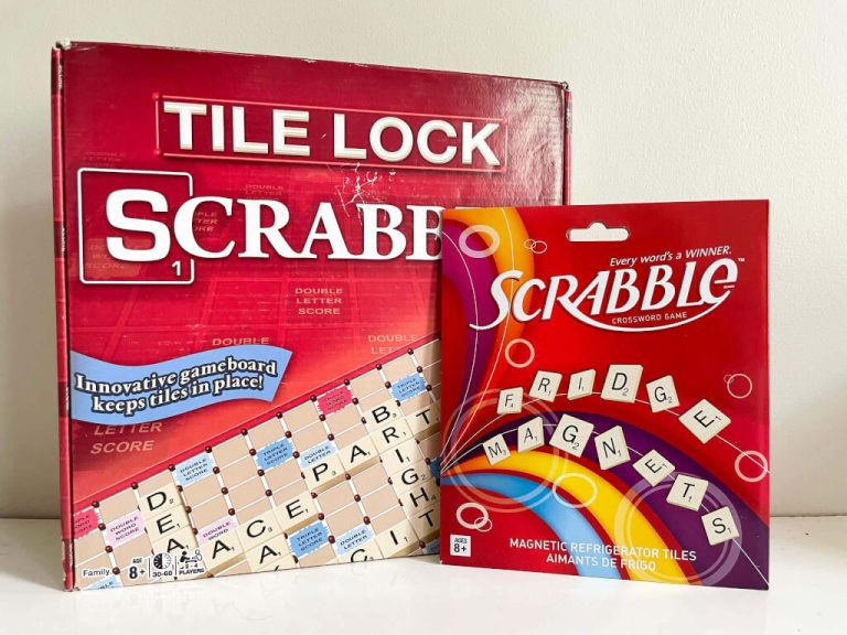 Scrabble language learning game