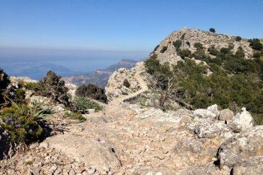 Hoehenweg S'Arxiduc von Valldemossa nach Deià