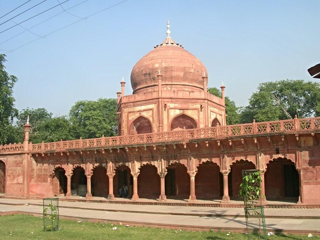 Im Roten Fort in Agra