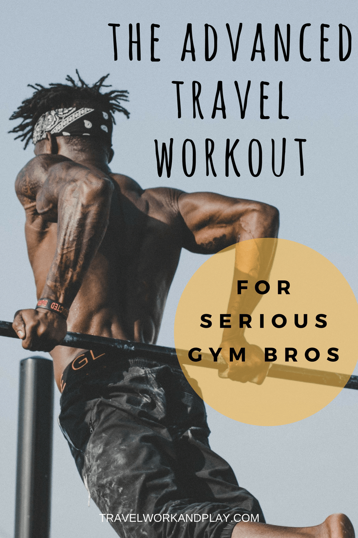 Travel fitness part III: How to stay in shape on the road. This is the advanced travel workout plan for serious gym-goers. This guide will help you stay fit while travelling using only resistance bands and your hotel room. Going to miss the gym or the track while you're backpacking? Read on to find out how to work out away from the gym while you're away. Motivation, tips, tricks and a full workout routine. Pin for later!