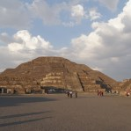 Pyramid of the Moon (Smaller one)