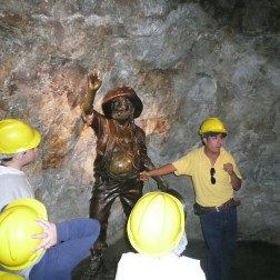 A tour inside the silver and gold mines of Zacatecas.