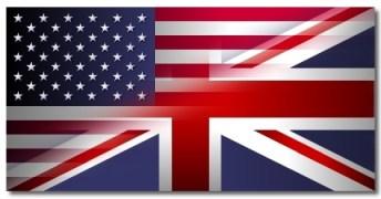 British American Flag
