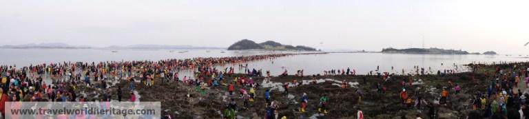 Jindo Miracle Sea Crossing