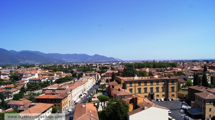Top of Pisa Tower
