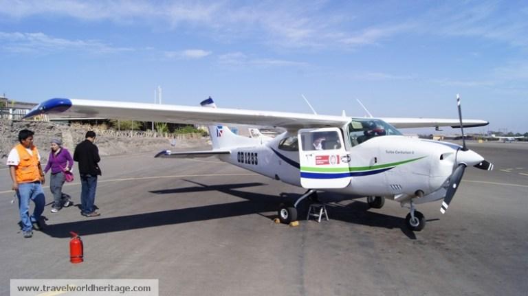 Airplane - Nazca