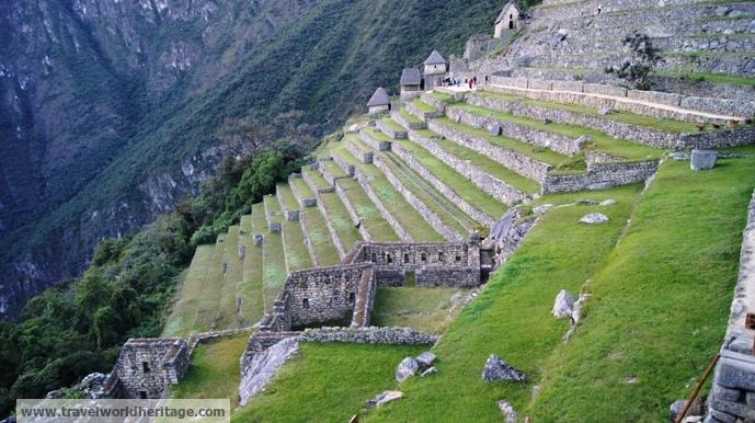 earthquake - Machu Picchu