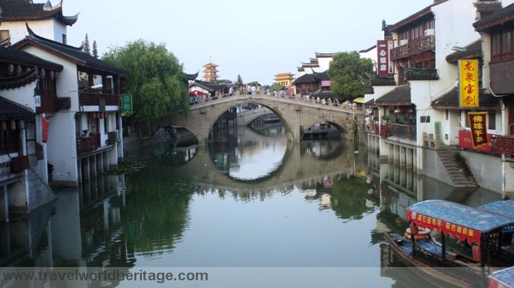 Qibao Village in Shanghai
