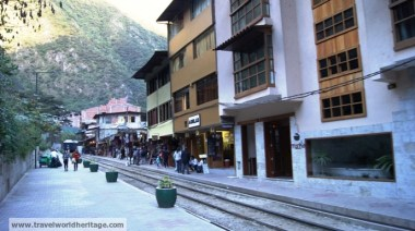 Peru Rail / Inca Rail tracks.