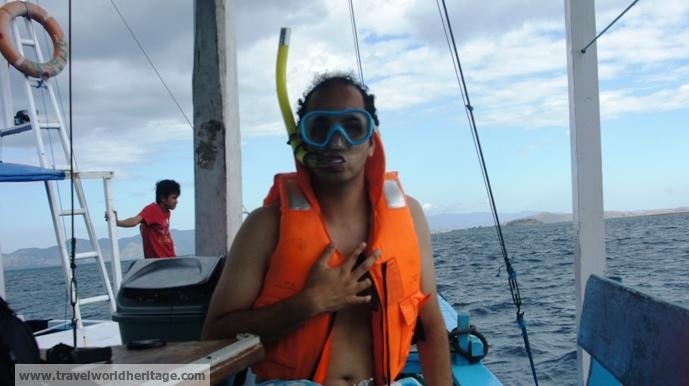 Snorkel prepared