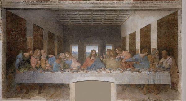 """Santa Maria delle Grazie with """"The Last Supper"""""""