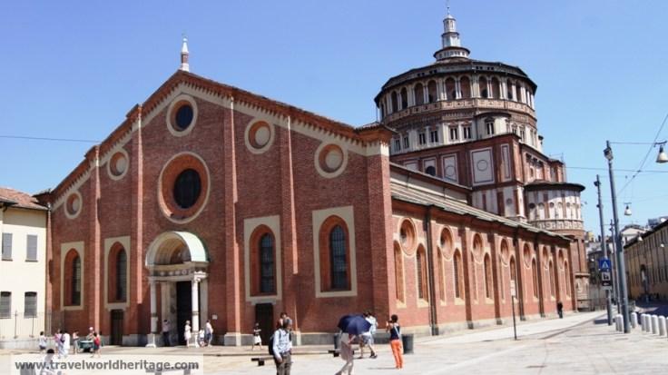 Church and Dominican Convent of Santa Maria delle Grazie with 'The Last Supper' by Leonardo da Vinci