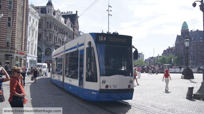 Train Amsterdam Layover