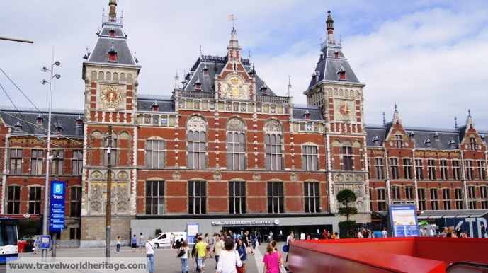 Amsterdam layover centraal