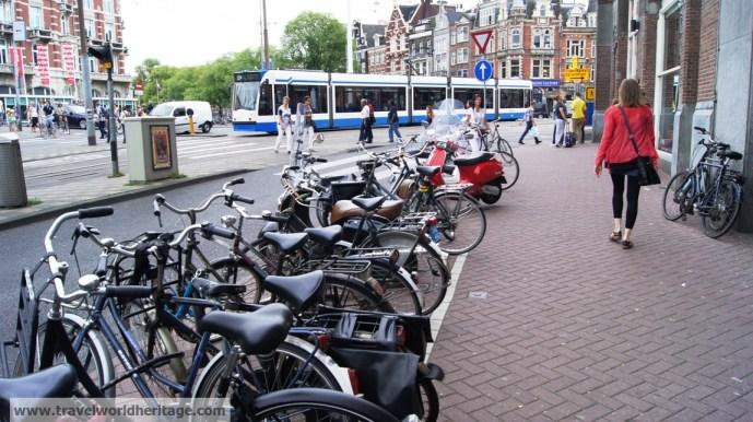 Amsterdam layover bikes