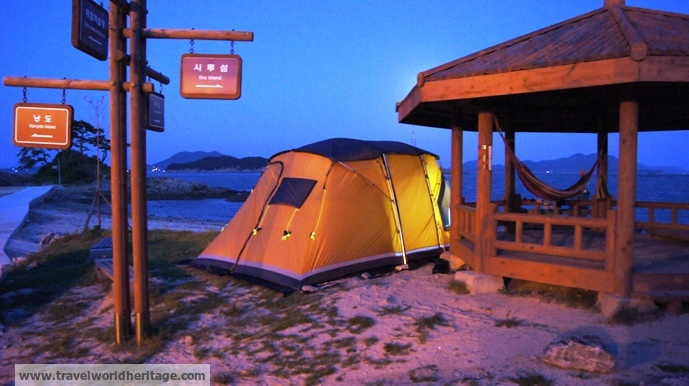 Tent in Sado Island