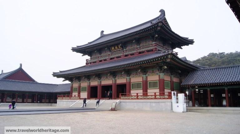 Baekje Cultural Complex Sabi Palace Main Hall Buyeo