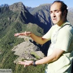 Machu Picchu, smaller than I thought.