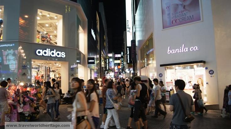 Myeongdong - save in Korea