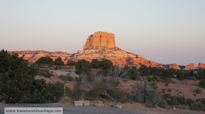 Navajo Nation Sunrise - American Road Trip
