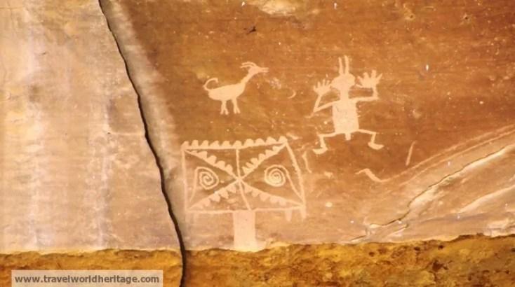 Petroglyph - Chaco Culture