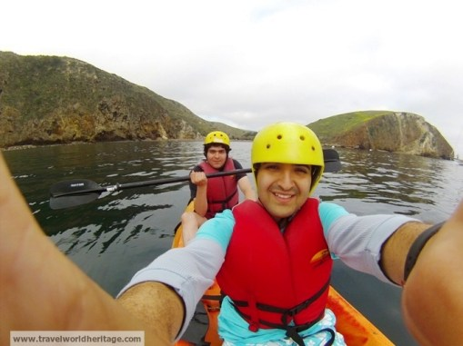 Kayaking Channel Islands NP