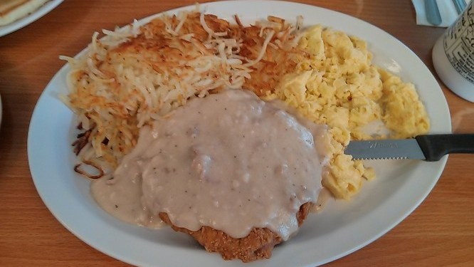 Eating America #5 – Cowgirl Cafe #2 (American Style Breakfast)