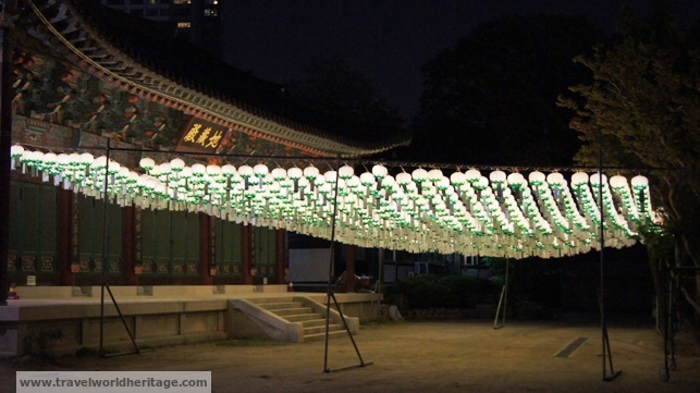 A lot of the other lanterns are donations from regular people.