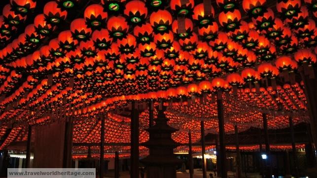 The Lanterns in Bongeunsa Temple