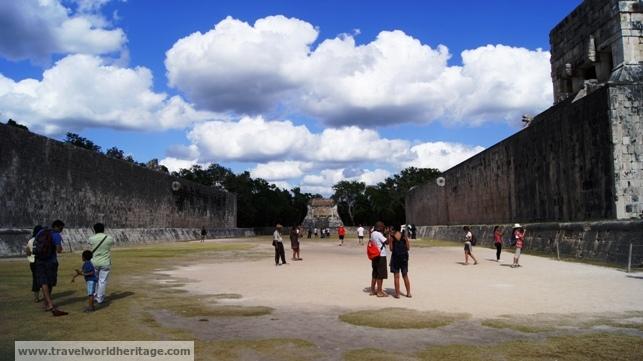 The Mayan Ball Game Stadium