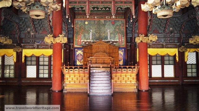King's Throne Changgeyonggung