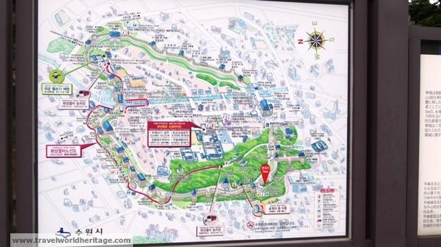Map of Hwaseong