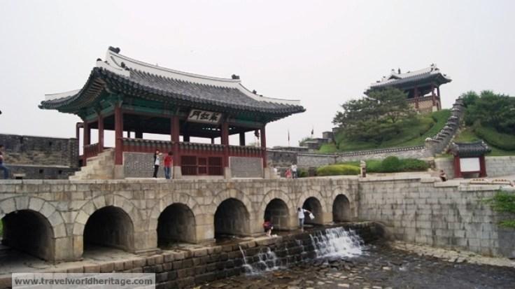Hwaseong Fortress Flood Gate