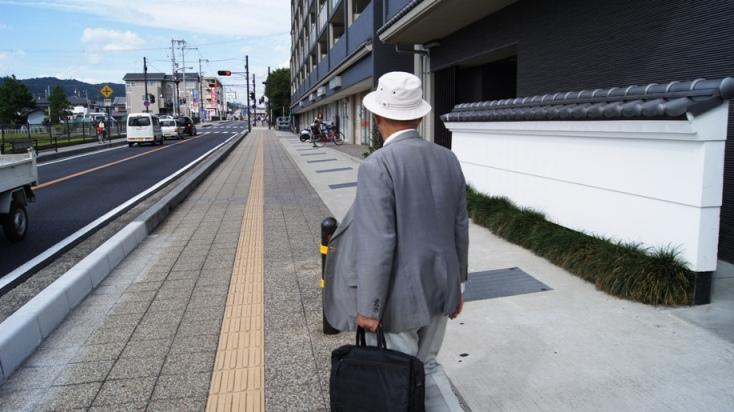 Old guy in Horyu-ji