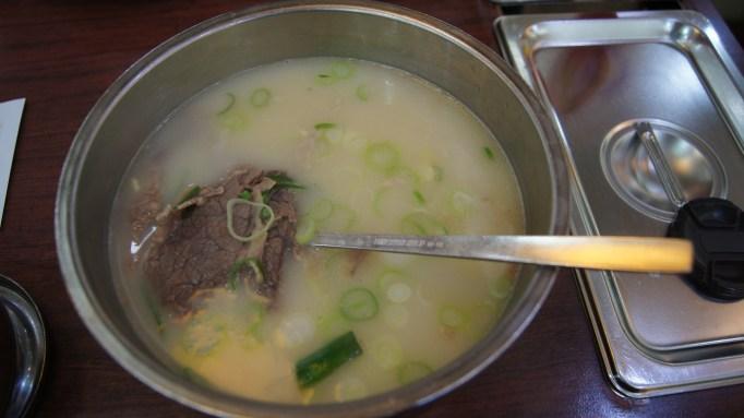 Korean Food - Seollangtang