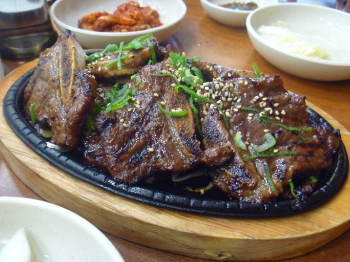Korean Food - Short Ribs