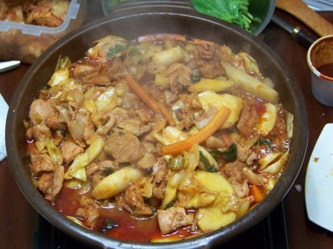 Korean Food - Dak Galbi