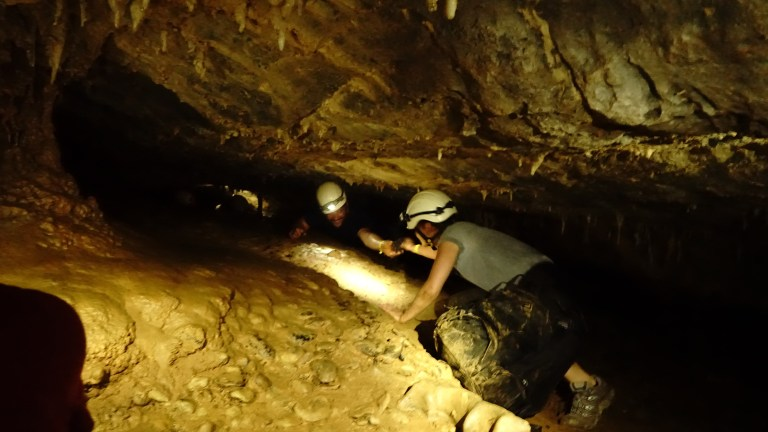 The Lagang Adventure cave was amazing and a bit harder than I expected.