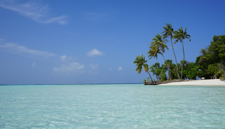 You may have seen this picture I posted a before of a beach in Dhangethi.
