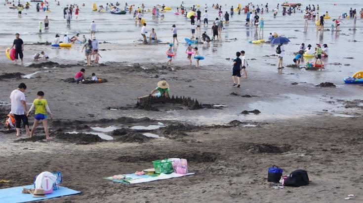 Black Sand Beach Jeju