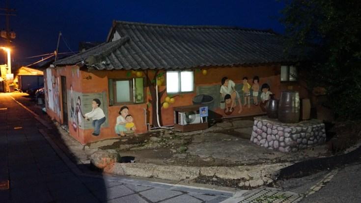 Kyodong Hanok Mural Korea