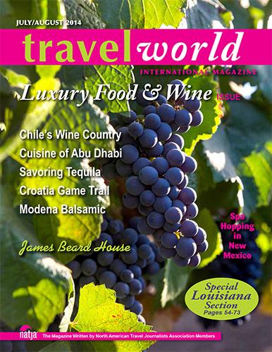 July/August 2014: Luxury Food & Wine Issue