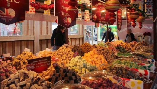 local specialties and seasonal treats at Amsterdam's Winter markets