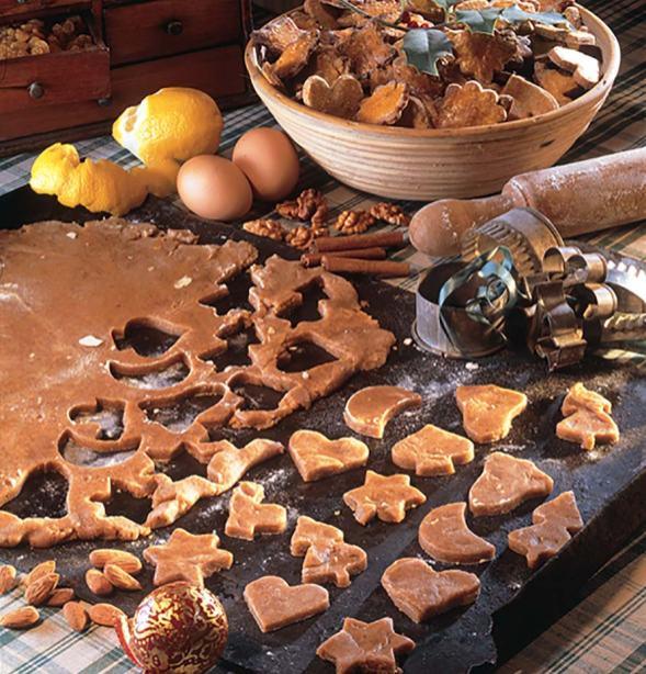 Baking bredele in Alsace Bas Rhin