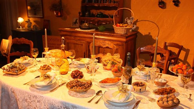 Christmas desserts in Provence
